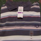 NWT Chaps Golf Polo Stripped Shirt Sz 2X Ralph Lauren