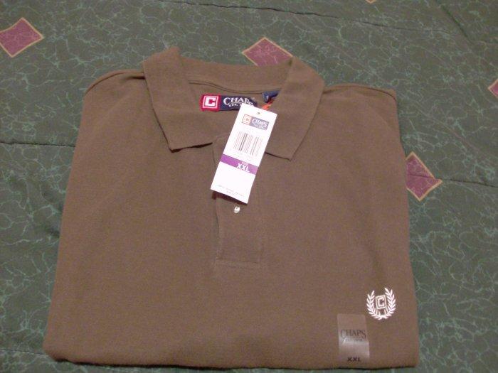 NWT Chaps Golf Polo Shirt Size 2XLT 2X Ralph Lauren