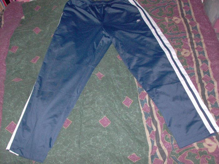 NWT Nike Blue Warm Up Exercise Running Track Pants XL