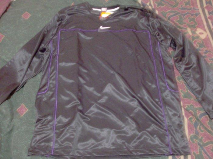 NWT Nike Black Warm Up Exercise Shirt Sz. 2X