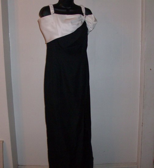Alex Evenings Black Dress Size 14