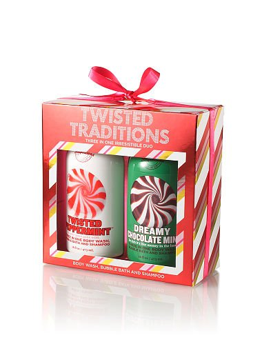 NWT BATH BODY WORKS TWISTED TRADITIONS DUO  3 IN 1