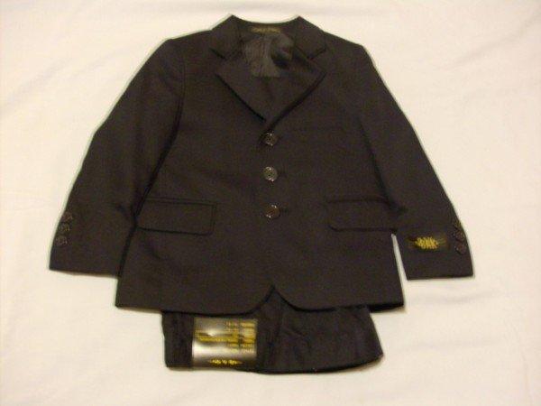 NWT Handsome Bak Navy Blue Suit 3T