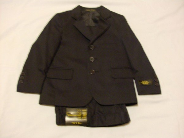 NWT Handsome Bak Navy Blue Suit 4T
