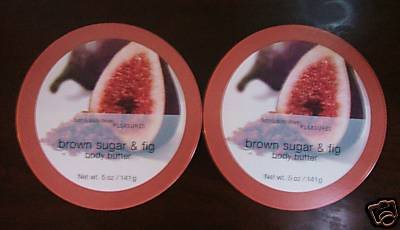 Bath and Body Works Brown Sugar and Fig Body Butter x2