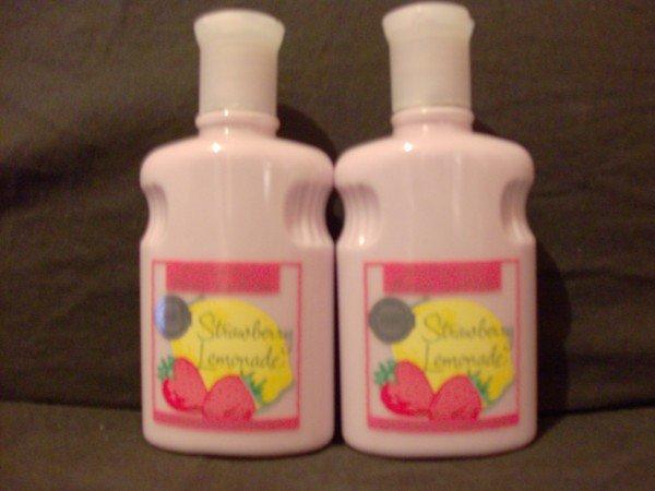 Bath and Body Works Strawberry Lemonade Body Lotion x2
