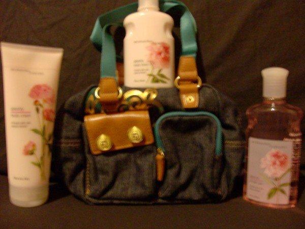 Bath and Body Works Peony Gift Set