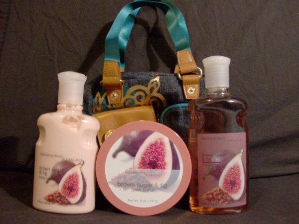 Bath and Body Works Brown Sugar and Fig Gift Set
