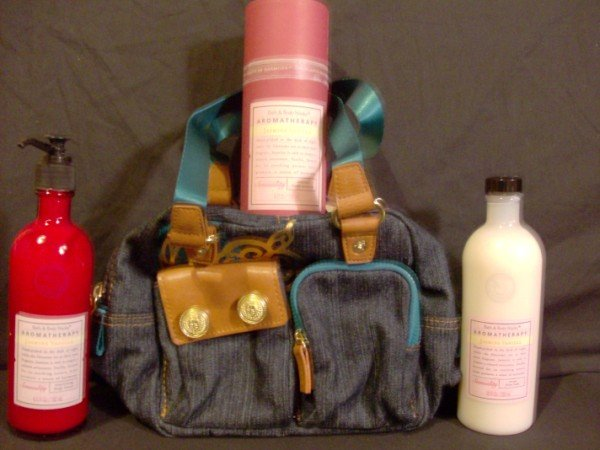 Bath and Body Works Aromatherapy Jasmine Vanilla Gift Set