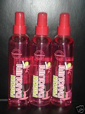 3 Bath and Body Works Temptations Frozen Strawberry Daiquiri Body Splash