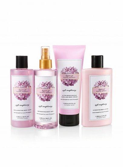Victoria's Secret Soft Raspberry Lotion Wash Cream Set
