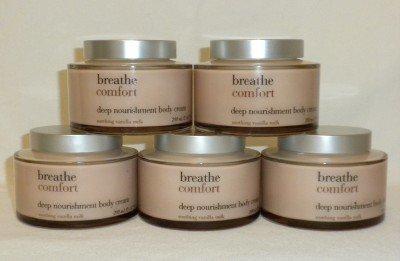 3 Bath and Body Works Breathe Comfort Body Cream
