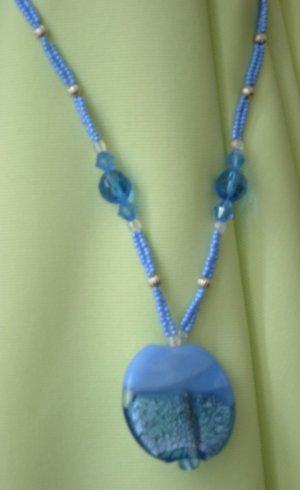 Periwinkle Paradise Necklace