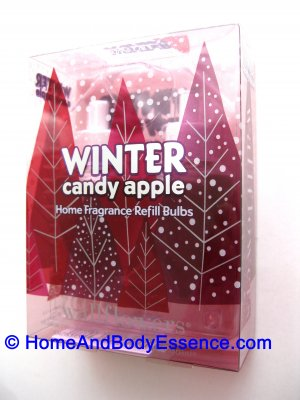2 Bath & Body Works Winter Candy Apple Wallflowers Refill Bulbs for Slatkin Home Fragrance Diffuser