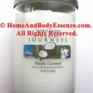 Yankee Candle Pacific Coconut World Journeys Scented Fragranced Jar Tumbler Home Fragrance 22 oz
