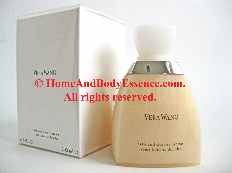 Vera Wang Bath Shower Creme Cream 6.7 oz Gel Body Wash Cleanser Perfume/Fragrance Perfumed Scented