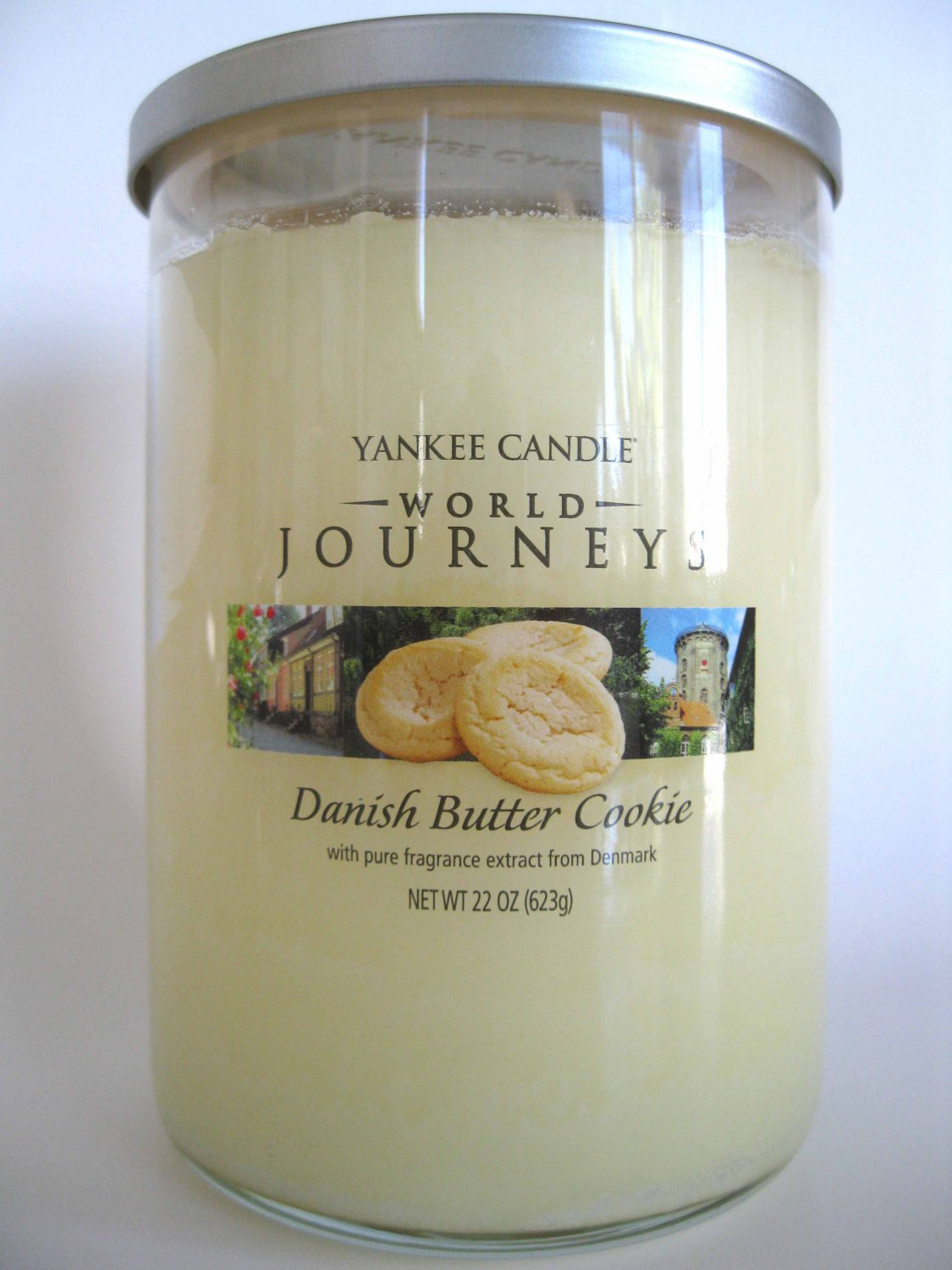 What Is The Sales Tax In Virginia >> Yankee Candle Danish Butter Cookie World Journeys Scented ...