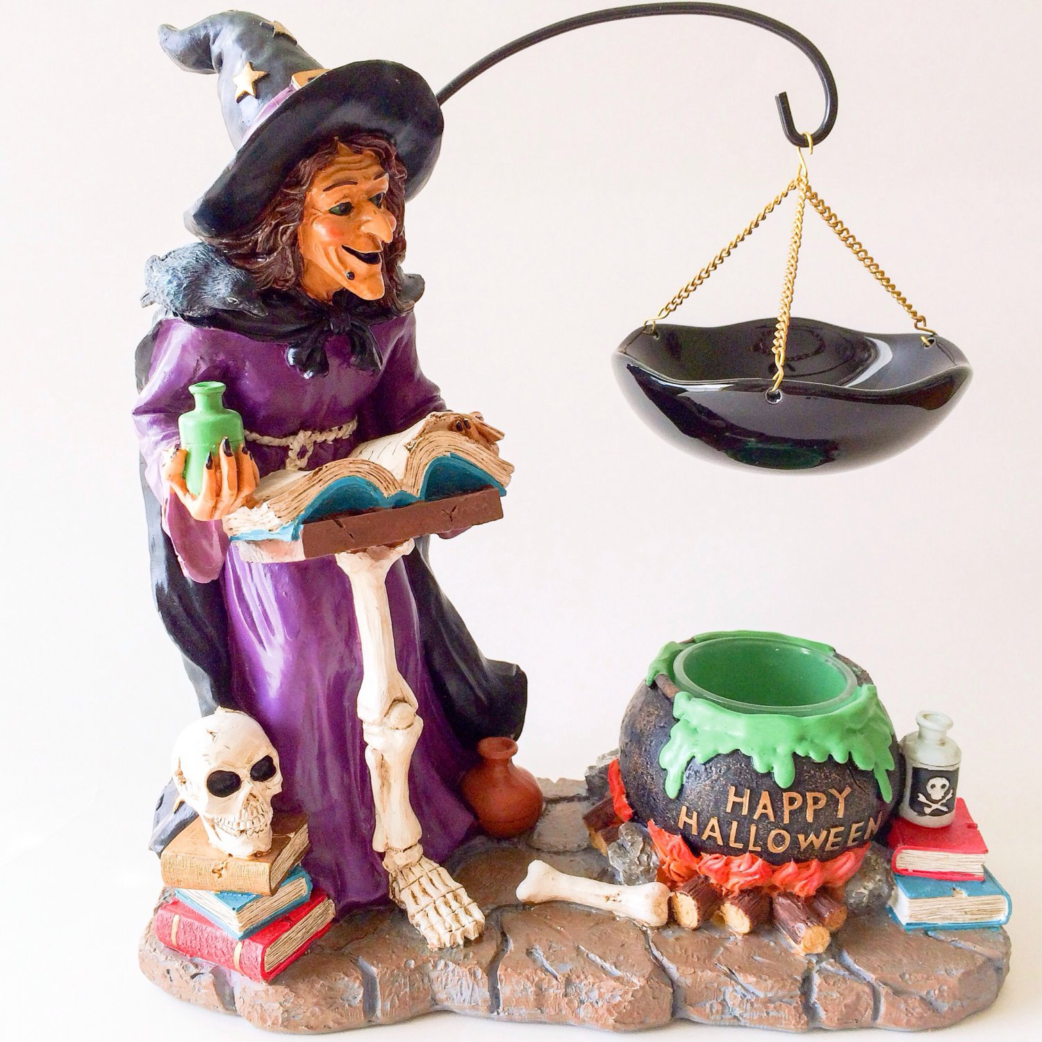 Yankee Candle Witches' Brew Hanging Tarts Wax Melts Burner