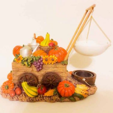 Yankee Candle Give Thanks Pumpkin Cart Tarts Warmer Hanging Classic Wax Melts Burner Thanksgiving