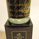 Godiva Black Almond Truffle Candle Scented Home Fragrance Decor Fragranced Filled Jar 7.5 oz