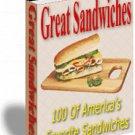 100 of America's Favorite Sandwiches