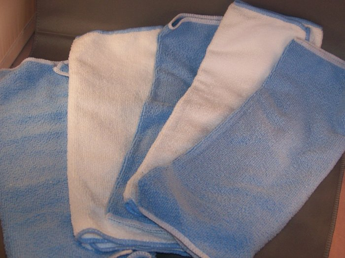 Microfiber Towels for Pocket Cloth Diapers