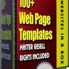 100+ Website Template