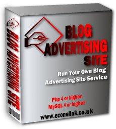 Blog Advertising Site