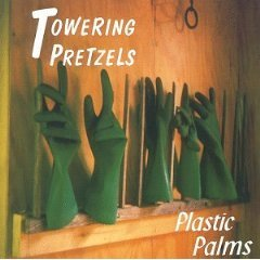 towering pretzels - plastic palms CD 1997 used mint
