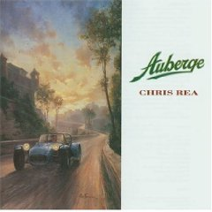 chris rea - auberge CD 1991 ATCO magnet used mint inserts punched