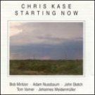 chris kase - starting now CD 1995 mons records used mint