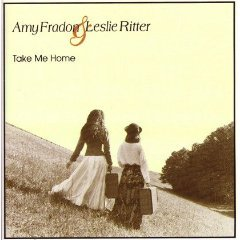 amy fradon & leslie ritter - take me home CD 1994 shanachie used mint