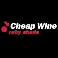 cheap wine - ruby shade CD 2000 cheap wine 12 tracks used mint