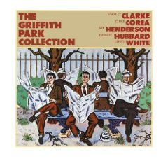 griffith park collection - stanley clarke chick corea joe henderson freddie hubbard LP 1982 elektra