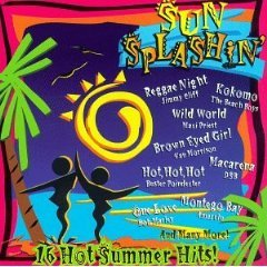sun splashin' - 16 hot summer hits CD 1996 sony madacy used near mint