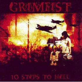 grimfist - 10 steps to hell CD 2005 candlelight used mint