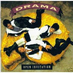 drama - open invitation CD 1994 perspective used mint barcode punched