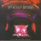 the neville brothers - live on planet earth CD 1994 A&M used mint