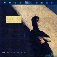 fareed haque - manresa CD 1989 pangaea 14 tracks used mint