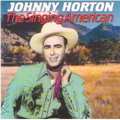 johnny horton - the singing american CD 1991 sony 10 tracks used mint