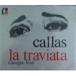 verdi - la traviata - callas CD 2-discs 1984 fonit cetra italy made in japan discs like new