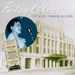 patsy cline - live at the cimarron ballroom CD 1997 MCA used mint