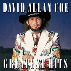 david allan coe - greatest hits CD 1990 sony 10 tracks used mint
