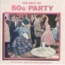 baby boomer's best partytime 50s - various artists CD 1986 priority 14 tracks used mint