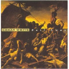 great white - sail away & anaheim live CD 2-discs 1994 zoo used mint