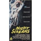 night screams starring Joseph Paul Manno and Ron Thomas VHS 1986 prism used