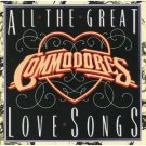 commodores - all the great love songs CD 1981 motown 14 tracks used mint