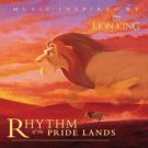 Rhythm Of The Pride Lands - Music Inspired By Disney's The Lion King CD 1995 disney used mint