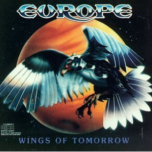 europe - wings of tomorrow CD 1984 cbs sony used mint