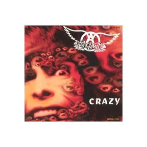 aerosmith - crazy CD single 1994 geffen 5 tracks used mint